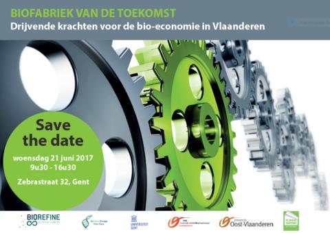 save the date: Biofabriek van de toekomst