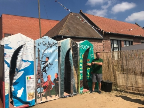 Van plastic tot compost, tent tot poncho en urine tot drinkwater: Festival Dranouter