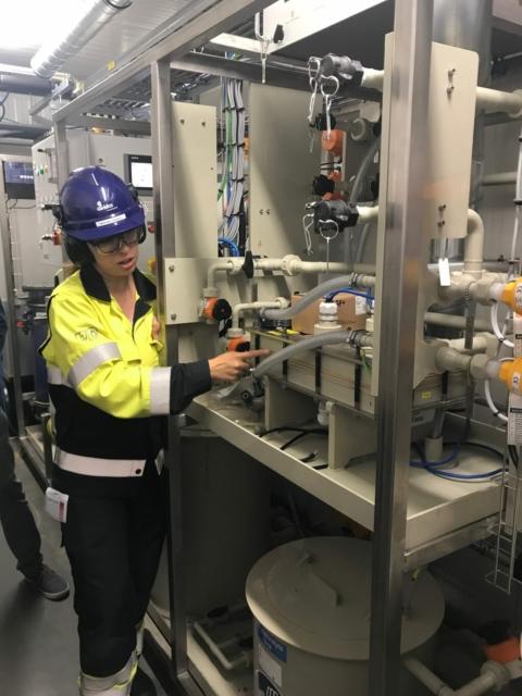 Op containerbezoek bij chemiegigant BASF