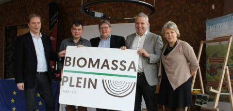 eco2eco: start eerste Vlaamse biomassaplein een feit