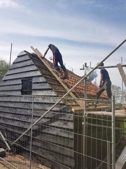 Revivak: restauratie monumentale schuur