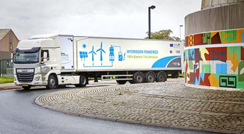 Waterstofregio 2.0: Colruyt Group test als eerste in Europa een 44 ton waterstoftruck