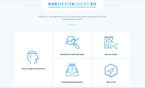 Project Zuivere Lucht lanceert www.hoemeetiklucht.eu