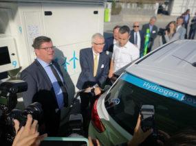 Waterstofregio 2.0: opening uniek publiek waterstoftankstation in Halle