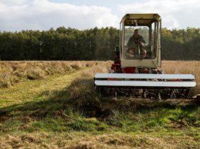 Grasgoed: Demonstratie machines natte graslanden