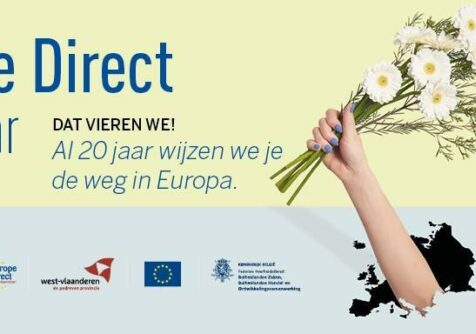 West-Vlaanderen: Europe Direct 20 jaar