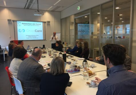 Coaching-event voor ondernemers CrossCare succesvol