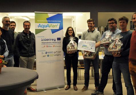AQUAVLAN2: bootcamp leidt tot start-up