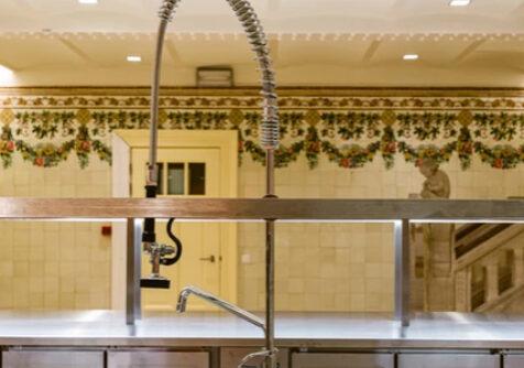 TERTS: energie-efficiënte renovatie Majolica-keuken van Kunstencentrum Voo?uit