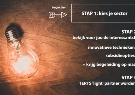 TERTS: Online stappenplan voor ondernemers