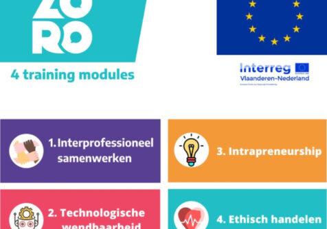 ZORO: stel je kandidaat voor de trainingsmodules voorjaar 2021