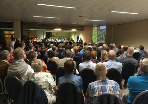 Zonne-gemeente Lo-Reninge stelt thermografische luchtfoto voor