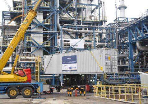 IMPROVED: Waterzuiveringsinstallatie verhuist naar BASF
