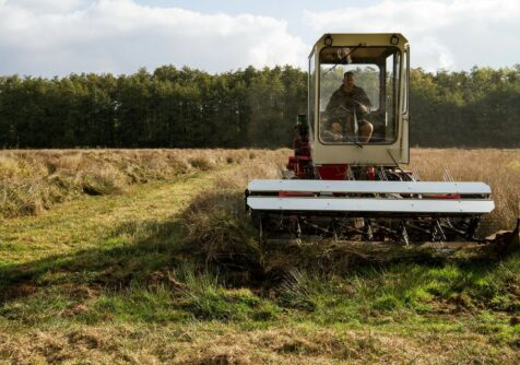 Grasgoed: Demonstratie machines natte graslanden