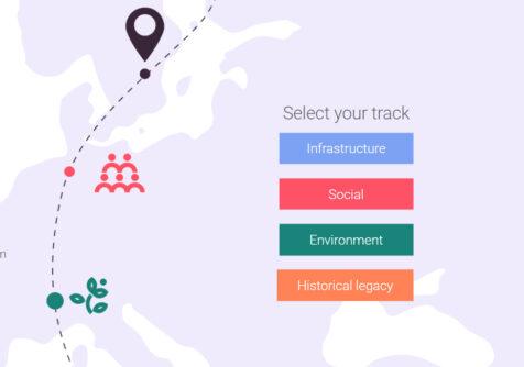 Maak een digitale reis langs Europese projecten dankzij EU in My Region