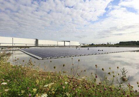 F2AGRI: bufferbekken voor gezuiverd afvalwater in Ardooie is klaar