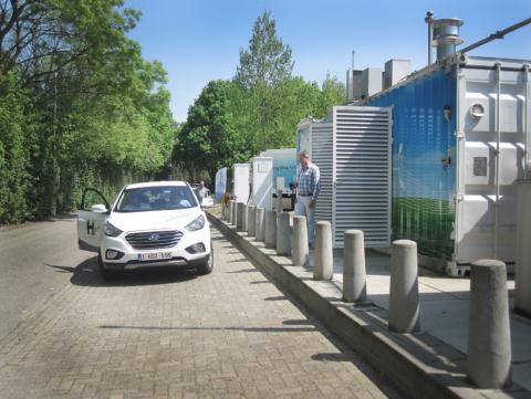 Waterstofregio 2.0: Infosessie 'Rijden op waterstof'