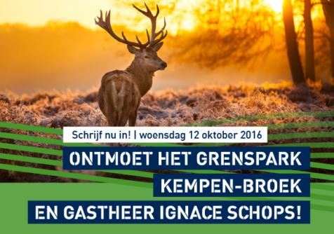Ontmoet grenspark Kempen-Broek