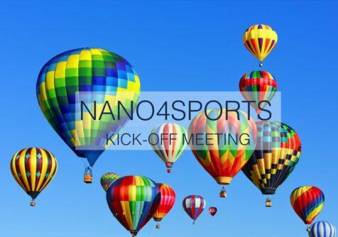 Kick-off meeting Nano4Sports